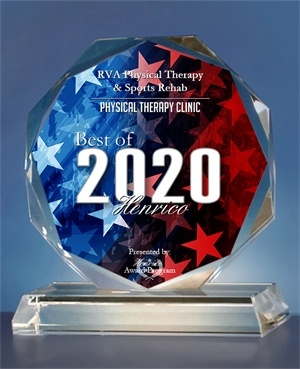 RVA Physical Therapy & Sports Rehab Receives 2020 Best of Henrico Award